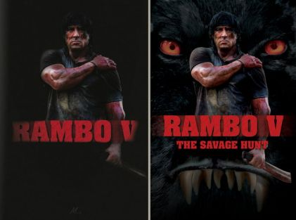 Rambo V The Savage Hunt movie poster