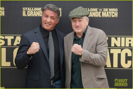 'Grudge Match' - Rome Photocall